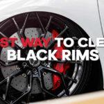 best-way-to-clean-black-rims
