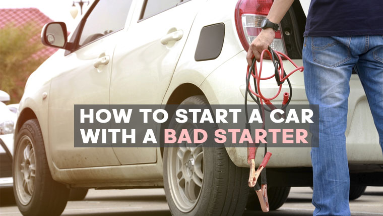 How To Start A Car With A Bad Starter >> How To Start A Car With A Bad Starter Eitmonline