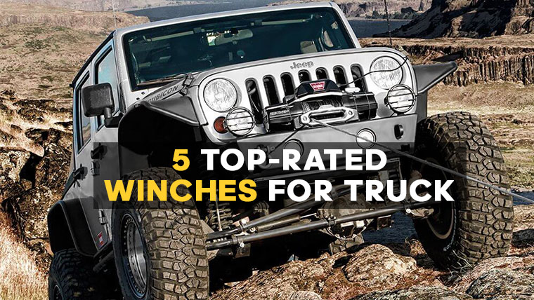 top truck winches