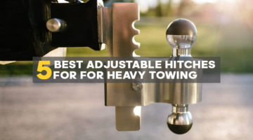 adjustable trailer hitches